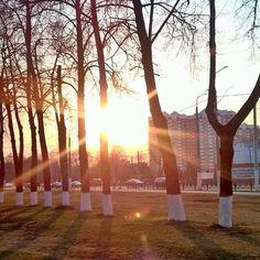 """☀️ Автор фото : @hzkoroche #Подольск #Podolsk"""