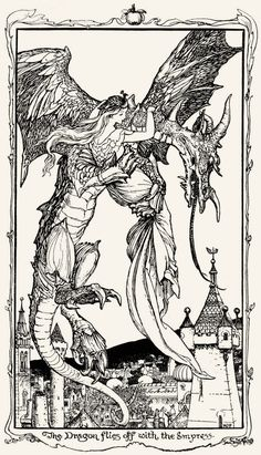 Henry Justice Ford - The violet fairy book, edited by Andrew Lang, 1906 (illustration Art Nouveau, The Violet, Fairytale Art, Pop Art, Children's Book Illustration, Caricatures, Mythical Creatures, Art Inspo, Illustrators