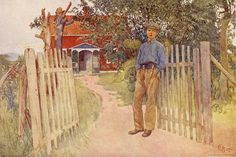 Esbjorn as a Farmhand ~ carl larsson
