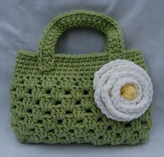"""New Cheap Bags. The location where building and construction meets style, beaded crochet is the act of using beads to decorate crocheted products. """"Crochet"""" is derived fro Crochet Handbags, Crochet Purses, Crochet Bags, Crochet Gifts, Bead Crochet, Free Crochet, Ravelry Crochet, Love Knitting, Crochet Purse Patterns"""