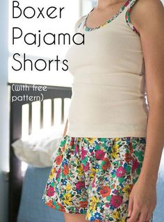 Boxer Shorts – Free Sewing Pattern