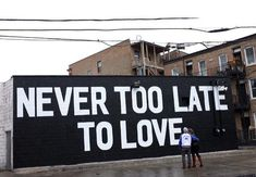 """Street Art sur Twitter : """"Never too late to love... Street Art by Maserart #art #arte #graffiti #streetart http://t.co/NwMxOrBfdA"""""""