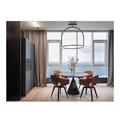 Free layout and admire panoramic Black Sea view were the initial data for the design concept of apartment with area of 69 m 2 in Odessa City. Designed by Svoya studio it features iconic GINGER chair by @PoltronaFrauofficial . #Archiproducts  #ArchiproductsShop  #Archilovers #Interiorinspo #InteriorDesign #DesignInspo #InteriorDesignAddict #InteriorDesignIdeas #InteriorStyling #InteriorLovers #homeinspo #homesofinsta #makingahouseahome #interiordecor #interior4inspo #interiorlovers #archiproducts
