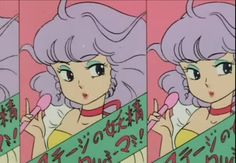 pink, purple green combo from Creamy Mami
