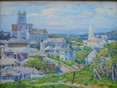 A recent acquisition by the Bermuda Masterworks Gallery, this painting is the only known work by renowned American artist Charles Ebert that depicts Bermuda.