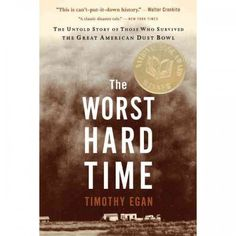 This is one of the best non-fiction books I have read in a long time. The subject is the Dust Bowl and I highly recommend it.