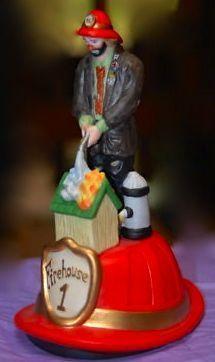 Emmett Kelly Jr The Fireman Musical 728388 The San Francisco Music Box Comp | eBay