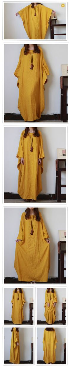 Aliexpress.com : Buy New Women Dress Summer 2016 Long Dress Batwing Sleeve Cotton Dress Unisex Meditation Cloak Vestidos Buddhist Robe Femme Elbise from Reliable dresses summer 2016 suppliers on hisenky Phoenixes Linen Clothes Store