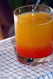 pineapple upside down cake drink or shot! Pineapple Upside down cake drink. Using 1/4 shot Malibu, 3/4 shot UV CAKE, pineapple juice, and with a splash of grenadine syrup. It is yummy!