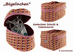 """sticKUHlinchen: """"Bügelinchen"""" eine Tasche für's Bügeleisen mit Vid..."""