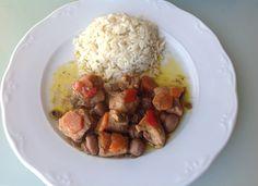 Pollo de la huerta para #Mycook http://www.mycook.es/receta/pollo-de-la-huerta