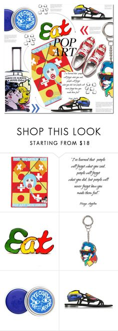 """""""POP ART ACCESSORIES!!!! anyone???"""" by sweta-gupta ❤ liked on Polyvore featuring Olympia Le-Tan, Rustic Arrow, Karl Lagerfeld, Pierre Hardy, Vans and polyvoreeditorial"""