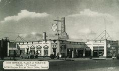 DeSoto Plymouth Dealer, Detroit