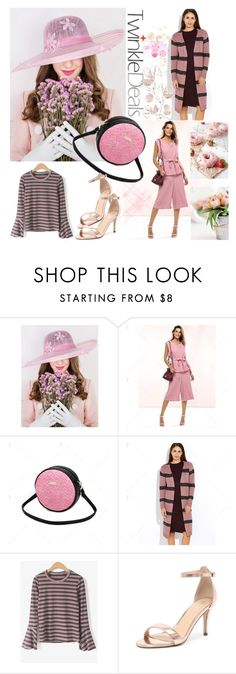"""Pink, pink (TD-62)"" by irinavsl ❤ liked on Polyvore featuring Verali and vintage"