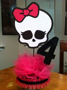 Hey, I found this really awesome Etsy listing at http://www.etsy.com/listing/161923424/double-sided-monster-high-centerpiece