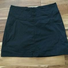 "Black skirt size 4 Black multi function skirt with built-in shorts. Back zipper closure. Quick- dry nylon ripstop material. 16"" in length. Royal Robbins Skirts"
