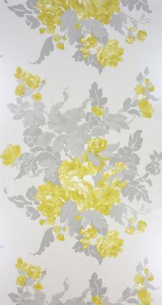 Osborne & Little: W6170-03 floral wallpaper
