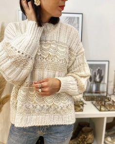 Lace Sweater, Knit Cardigan, Men Sweater, Knitwear Fashion, Knit Fashion, Prom Dresses Long Pink, Glamour, Diy Crochet, Knitting Designs