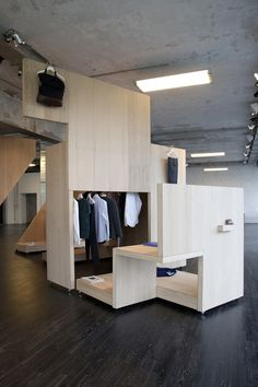 COS Pop up shop for Salone del Mobile, Milan store design in Retail Design