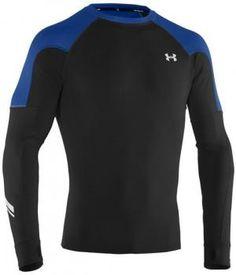 $66 Camiseta de hombre Cold Thermo Run Under Armour - tejido ColdGear - detalles reflectantes - tecnología antiolor