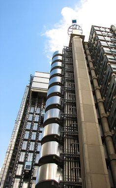 Lloyds of London - Lloyds of London    Richard Rogers building built from 1979-84 housing a British insurance market.