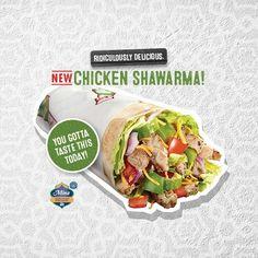 Pita Pit, Calorie Calculator, Healthy Food, Healthy Recipes, Greek Chicken, Shawarma, Catering, Tacos, Street