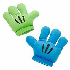Disney Mickey Mouse Plush Gloves - ''Mickey Mitts'' - Blue/Green | Disney StoreMickey Mouse Plush Gloves - ''Mickey Mitts'' - Blue/Green - For animated adventuring, don a pair of three-fingered gloves, like these Disney Parks authentic plush ''Mickey Mitts.'' Now available in pairs of vivid complementary colors for a creative twist on the cartoon tradition!