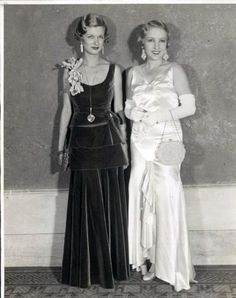 63309a409f1f Joan & Constance Bennett Uploaded By www.1stand2ndtimearound.etsy.com  Old Hollywood