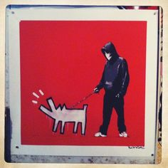 'Choose Your Weapon' Banksy #Art