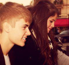 Selena and Justin ❤