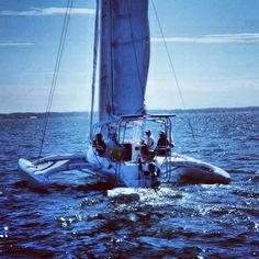 We just love our tris! The Cruze 970 enjoying the Chesapeake Bay waters during its review by Cruising World and Sailing World. The results for Boat of the year 2014 are to be announced in January. sail.corsairmarine.com #corsair #corsairmarine #sail #sailing #catamarans #cats #trimarans #tris #ocean #nautical #boatoftheyear