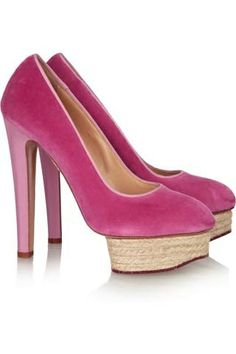 Velvet Charlotte Olympia Shoes.  Fall Fashion 2013. #omgshoes