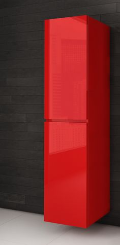 Lingerie salle de bain rouge - AQUAMOBILIA. Disponible chez Montréal - Les - Bains Top Freezer Refrigerator, Aqua, Relax, Kitchen Appliances, Lingerie, Home, Budget, Cooking Ware, Home Appliances