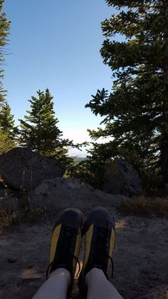"""""""On top of Crag Crest trail yesterday. Calves are killing me, but my feet never hurt at all."""" C.D. - Delta, Colorado"""