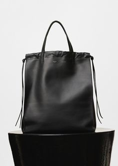 Medium Coulisse Cabas Phantom in Smooth Calfskin - Céline