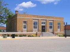 U.S. Post Office (Kewaunee, WI) by Andrew T..., via Flickr