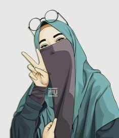 520 Gambar Wanita Muslimah Kartun Terbaru 2019 Gratis Terbaru
