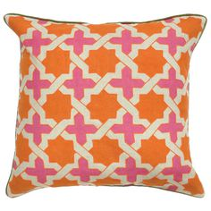 I pinned this Anika Pillow from the Beautiful Bedroom event at Joss and Main!