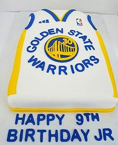Golden State Warriors Basketball Cake | For the Boys ...