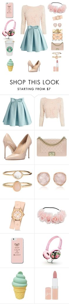 """#4"" by lindabarendi ❤ liked on Polyvore featuring Chicwish, Coast, Massimo Matteo, Chanel, Accessorize, Monica Vinader, Michele, Rimmel and Avon"
