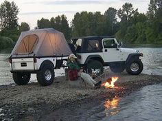 Tentrax Offroad Trailers