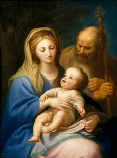 The Holy Family - Francisco Bayeu y Subias