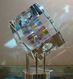 Image > Dichroic Glass Cube by Jack Storms