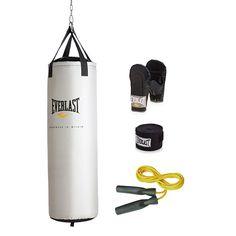 Everlast 81-Pound Platinum Heavy Bag Kit