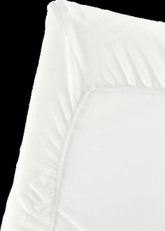 Fitted Sheet for Travel Crib Light • White • Organic Cotton