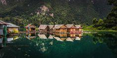 Raft Houses at Khao Sok