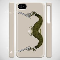 Handlebar Holdup iPhone 4/S Case now featured on Fab.