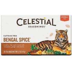 Celestial Seasonings Tea Herb Bengal Spice * You can get more details by clicking on the image. (This is an affiliate link and I receive a commission for the sales)