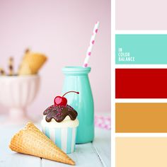 In Color Balance Paint Color Schemes, Bedroom Color Schemes, House Color Palettes, Red Colour Palette, Red Color, Color Balance, Bedroom Paint Colors, Design Seeds, Colour Board