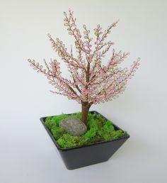 Beaded Cherry Bonsai